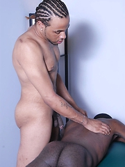 The erotic massage between Cody and Damori is just the beginning of...